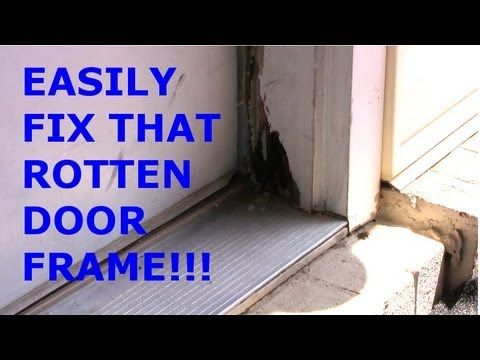 Rot on your door frame? You CAN fix it!