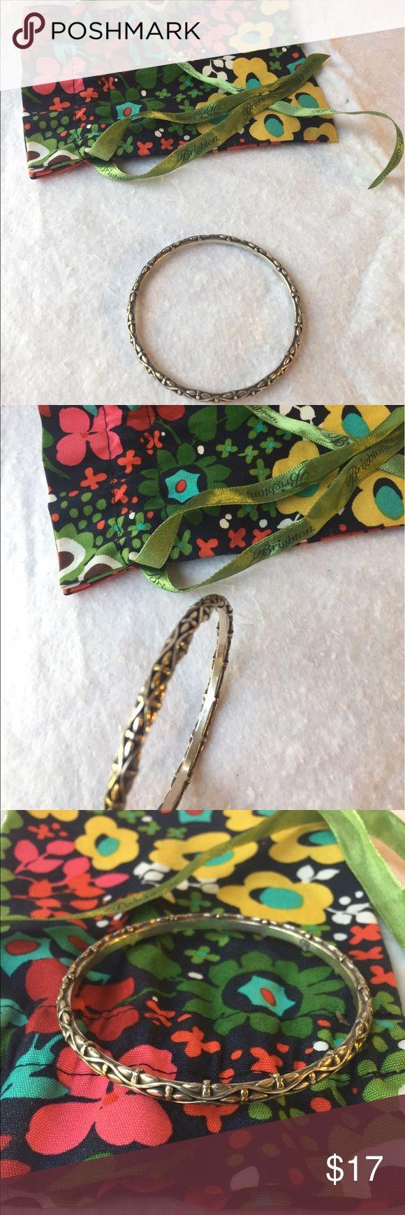 Brighton Silver & Gold Bangle Brighton Silver & Gold Bangle Brighton Jewelry Bracelets