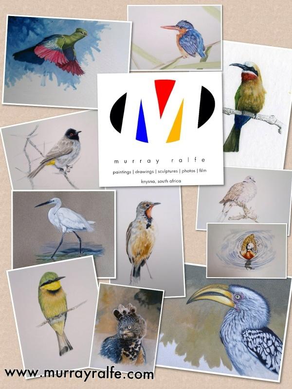 Bird paintings, Murray Ralfe