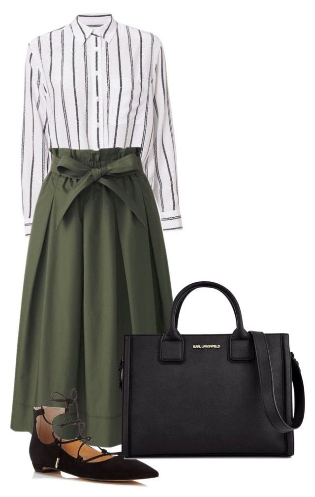 """""""Let's go"""" by skirtsandshirts on Polyvore featuring Equipment, Uniqlo, Ivanka Trump and Karl Lagerfeld"""