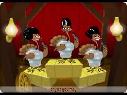 Funny Thanksgiving Cartoon - Must See!