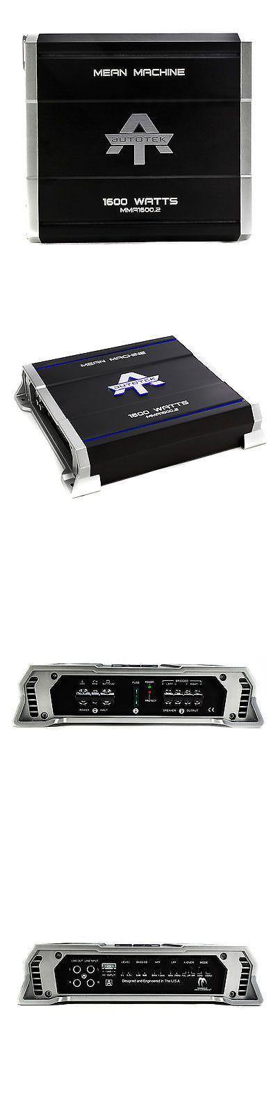 17 best ideas about car audio amplifier audio car amplifiers autotek 1600 watt 2 channel mean machine mosfet power a b car