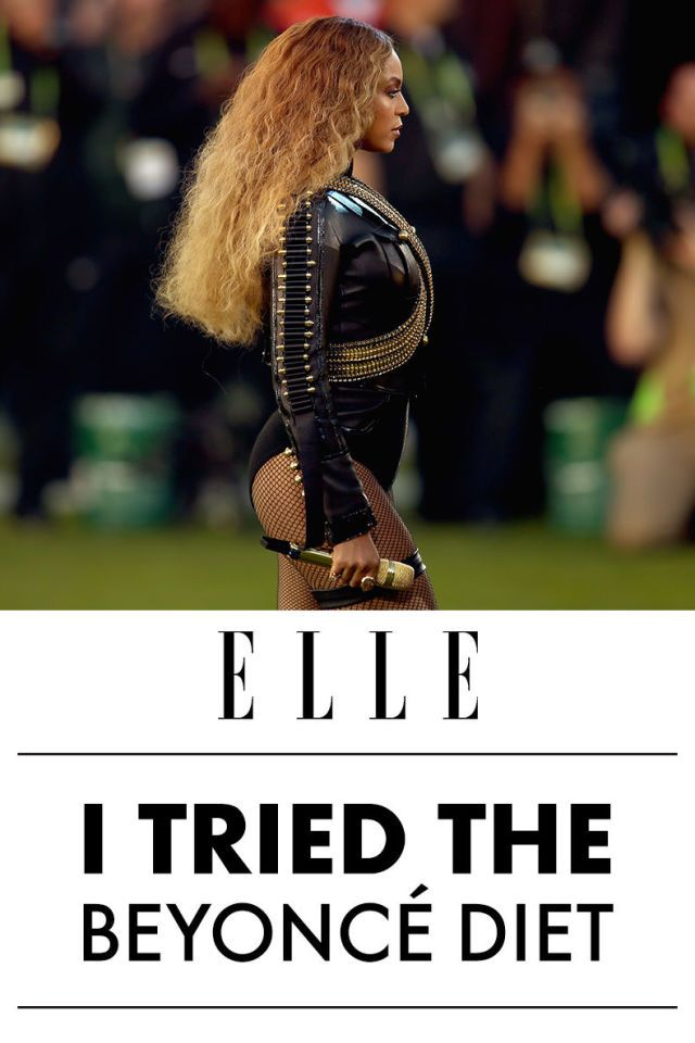 Eat, drink, live like Beyoncé:
