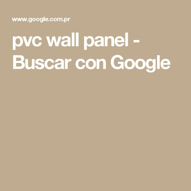 pvc wall panel - Buscar con Google