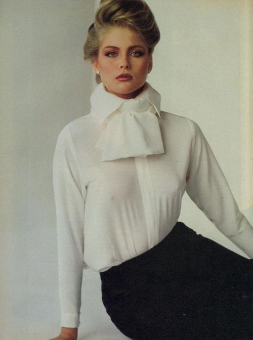 "Vogue US June 1980 ""Paris… An Irresistible Charm!"" Model: Kim Alexis Photographer: Francesco Scavullo"