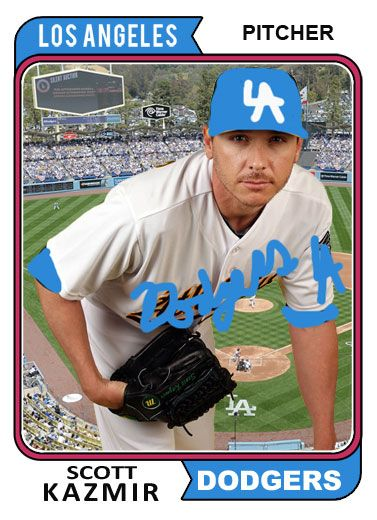 Dodgers Blue Heaven: Welcome to the Blue, Scott Kazmir!
