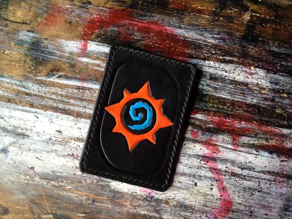 Hearthstone Blizzard Leather Handcrafted Cardholder Perfect #battlenet #blizzard #hearthstone #geek #geeky #nerdy #nerd #game #games #gaming #gamer #gamers #loot #craft #crafts #crafting #quality #leather #leatherwork #leathercraft #leathergoods #goods #cardholder #cardwallet #holder #accessories #handmade #handcraft #handcrafted #handstitched #carving #tooling #fantasy