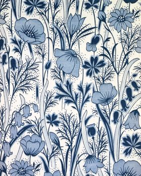 Field Flowers Furnishing Fabric by Liberty and Co, early 20 Century, © V and A Images/Victoria and Albert Museum, London