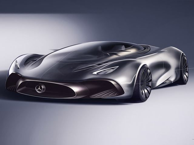 Mercedes Hybrid Supercar Ideas