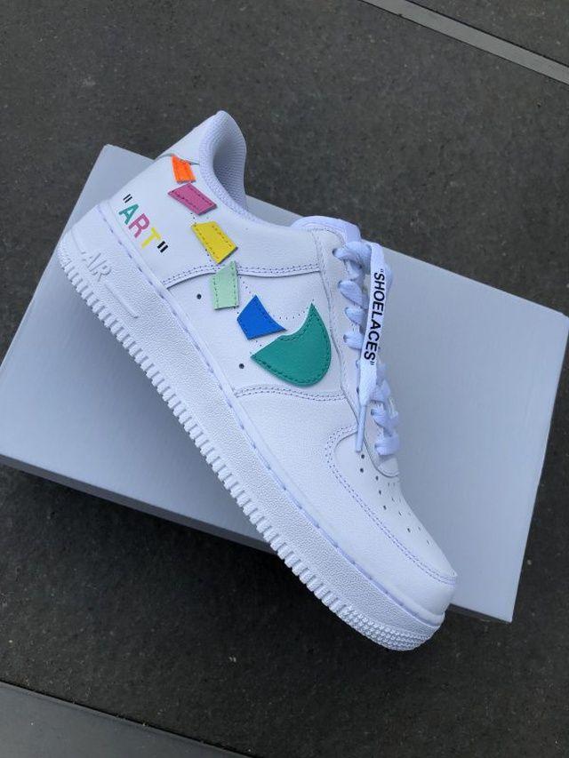 Kids Authentic White Shoes N.Y.L.A