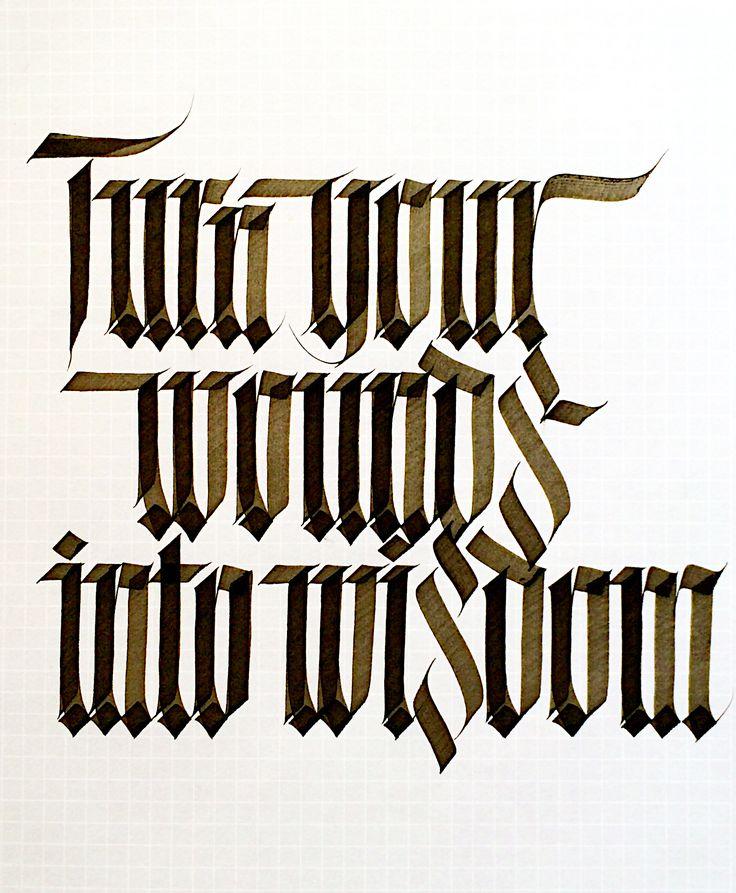 Calligraphy sachinspiration