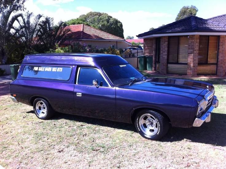 Valiant rare sports pack drifter van (Australian).