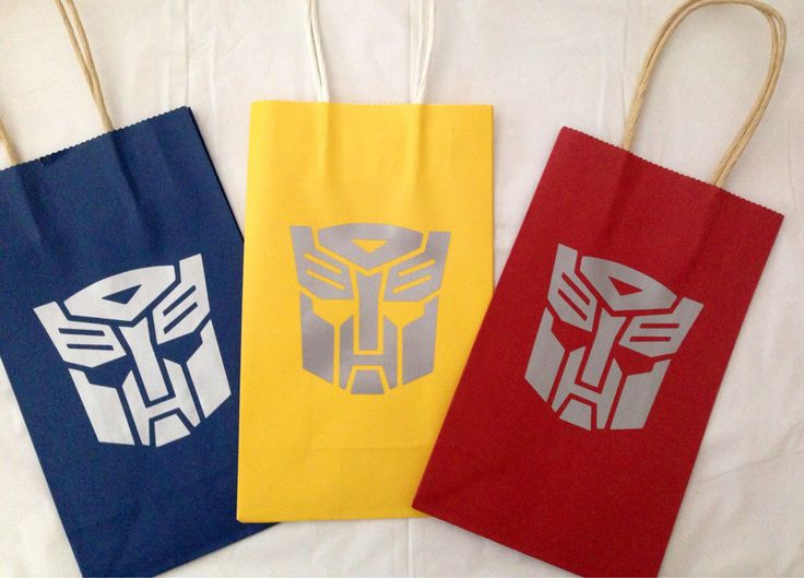 Transformer Goody bags by KBsKraftKorner on Etsy https://www.etsy.com/listing/196478223/transformer-goody-bags