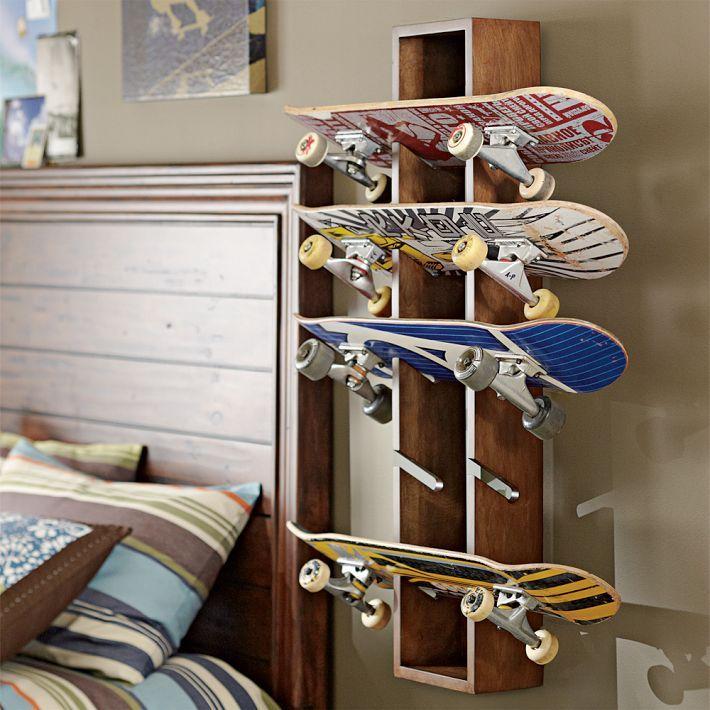 Diy Skateboard Design: Organizing Ideas And Storage