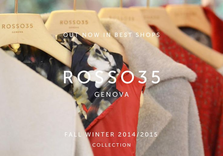 #Rosso35 Fall Winter 2014/2015