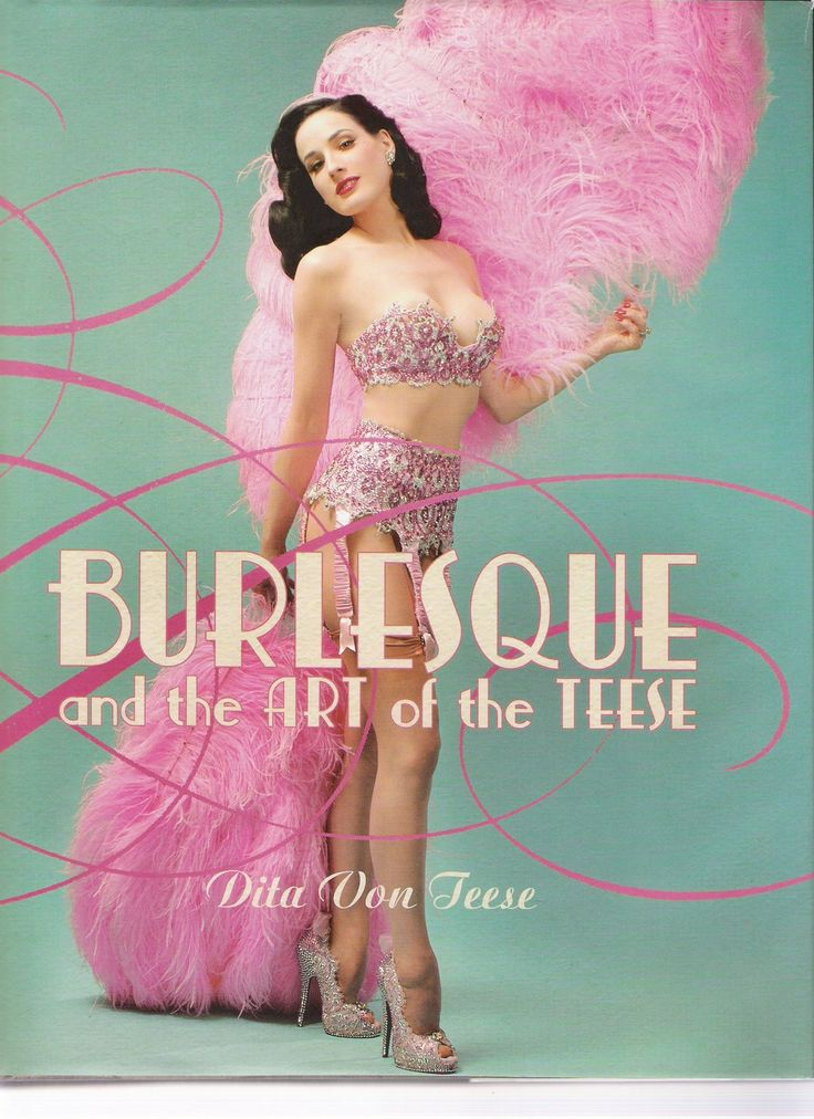 Dita Von Tesse, Burlesque and the Art of Tesse....Flip side book...equally love the darker side!