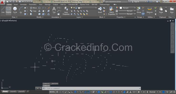 AutoCAD 2015 Crack Plus Product Key Full Free Download