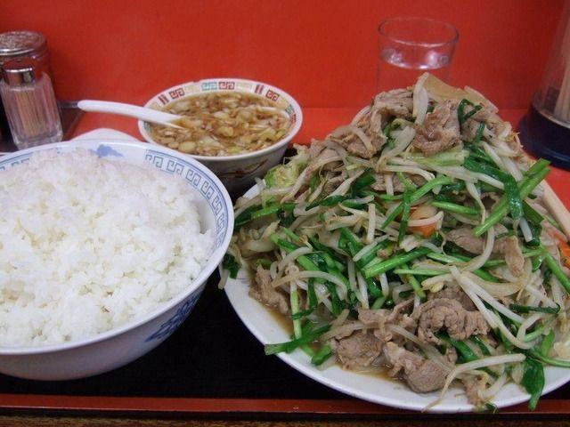 レバニラ定食 rebanira teisyoku