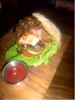 Tell one, tell all! Don Pedro now has Hump Day beef burger, blue cheese & bacon burger with a 300ml draught for R80