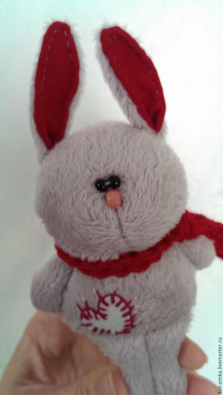 Купить Игрушка. Заяц. Друг сердешный. Люблю. - зайчик, любовь, красный, День Святого Валентина