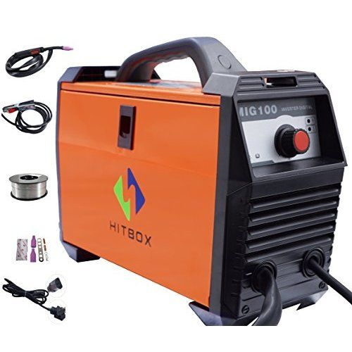 Premium Flux Core Gasless MIG welder KickingHorseTM F130. 110V 120V input, 130 Amp output. IGBT Inverter with Step-less Heat Control. Run 035 wire and weld 1/4 inch steel in single run. Increased power in ultra-portable package. Canada Stock. ★ 1 (One) Year Manufacture Free Replacement Warranty in Canada ★