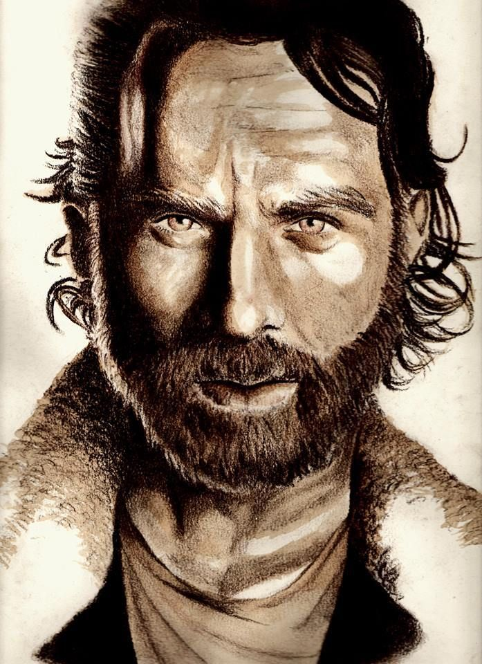 Rick Grimes The Walking Dead - Mithril ArtMithril Art