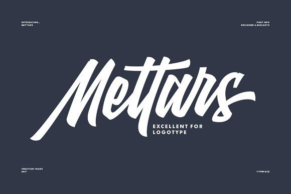 Mettars - 50% Off by Adil Budianto on @creativemarket