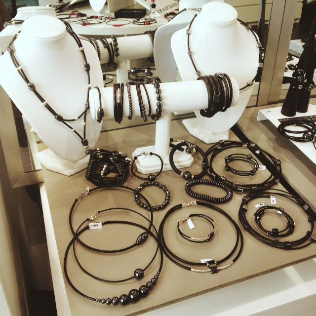 A sampling of our magnetic Swedish hematite and rubber collection.