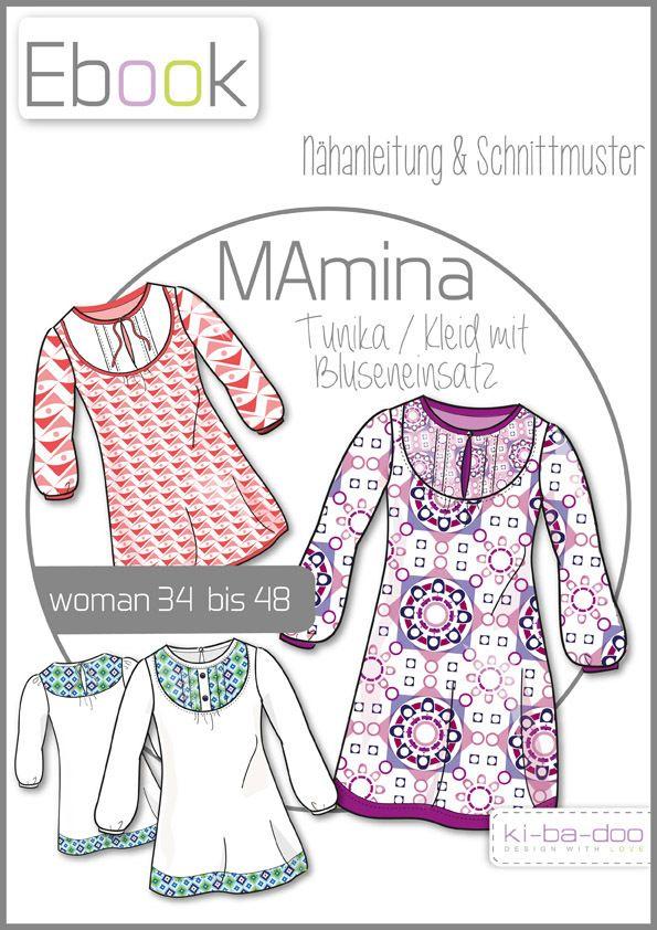Ebook MAmina - Ebook - Schnittmuster und Anleitung als Pdf Datei, versandkostenfrei!
