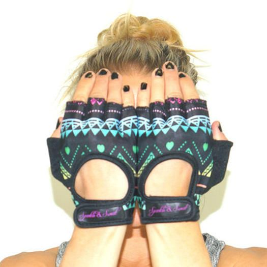 Try these workout gloves that are fashionable and trendy. These gloves will help you when working out at the gym and lifting heavy weights. Stay stylish at the gym with these colorful gloves.