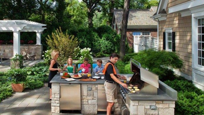 1001+ Ideen für Außenküche selber bauen – 23 Beispiele für selbstgebaute Gartenküchen!   – michael kujau