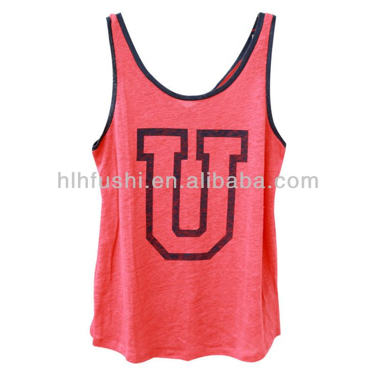 2013 slub cotton wholesale fashion muscle fitted custom cheap tank tops for men