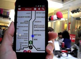 It's hard to imagine mobile GPS getting any sleeker. Intuitive gestures allow for effortless on-the-go navigation, and digital cartography makes maps all the more informative. But step inside any shopping mall and you'll still find a crowd huddled around an analog directory. Enter the Indoor Positioning System, or IPS, which has the potential to map indoor spaces as well as Google has for city streets