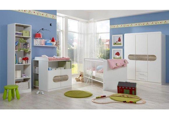 Babyzimmer Komplett Set 4 Teilig Babyzimmer Bett Ideen Zimmer