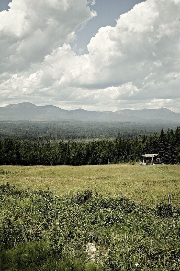 Hillside retreat in Quebec