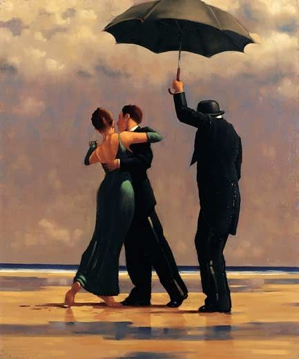 Dancer in Emerald - Jack Vettriano                                                                                                                                                      More