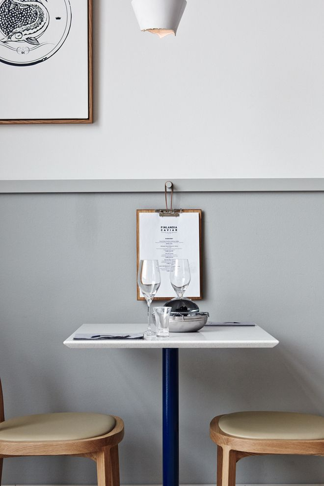 Menu peg. #cafe style Finlandia Caviar by Joanna Laajisto