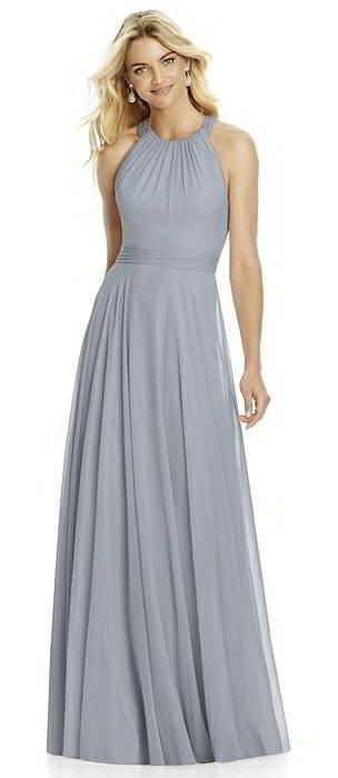 Best Gray Bridesmaid Dresses Weddings Images On Pinterest