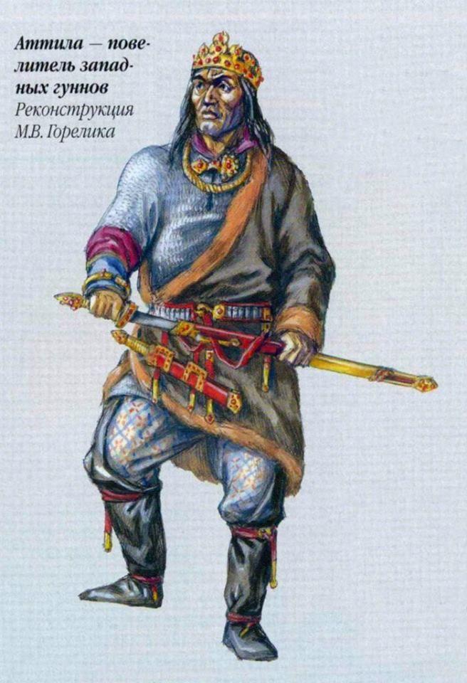 Attila by Gorelik