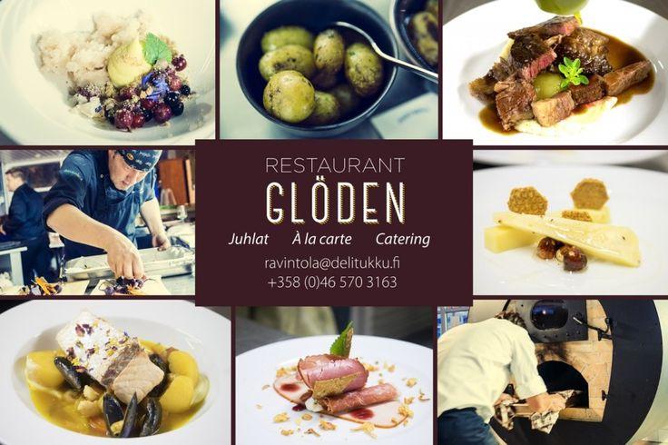 DeliTukku, á la carte Restaurant Glöden #Finland