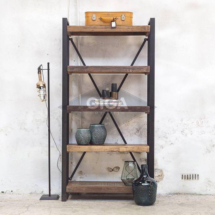 Industriele kasten en meer meubelen nu bij Giga meubel
