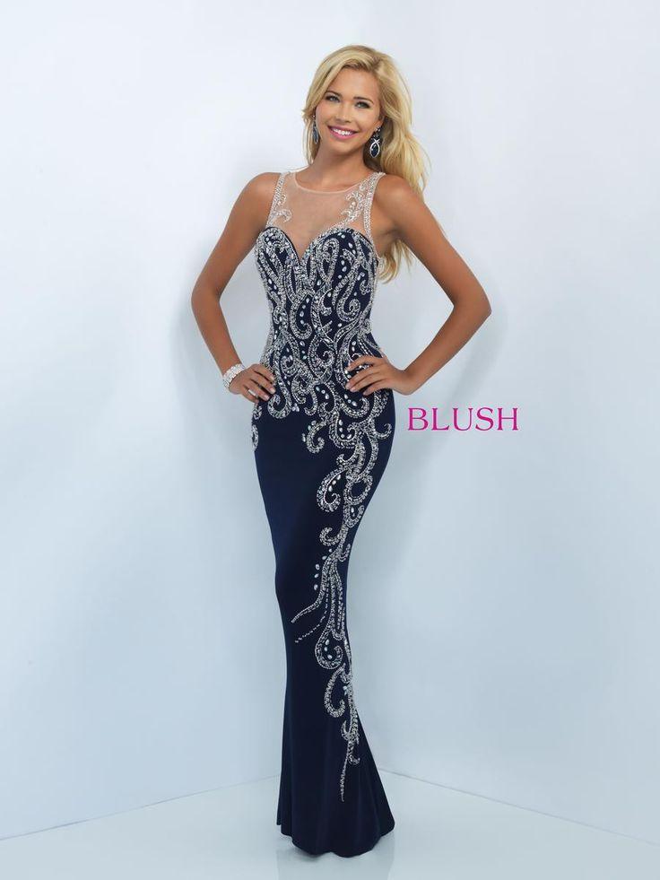 Blush Floor Length Dress