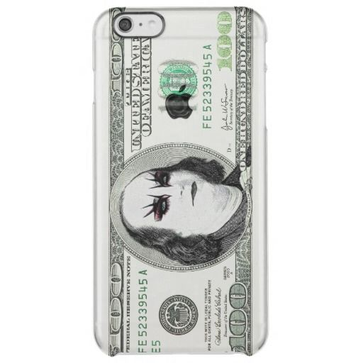 Banknote Gothic Parody iPhone 6 Plus Case Uncommon Clearly™ Deflector iPhone 6 Plus Case Kitty Bitty