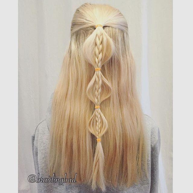 Sometimes something simple can be oh so beautiful ❤️ #bubblebraid #threestrandbraid combo on @ester_draws 😍 . . #braid #braidinghair #braidideas #instabraids #lettikampaus #letitys #hairdo #hairstyles #peinados #plaitedhair #suomiletit #braidsforgirls #featuremeisijatytot #hotbraidsmara #braidsforlittlegirls #braidsforever #beyondytheponytail #braidingchallenge #featureaccount_ #braidinginspiration #inspirationalbraids #cghphotofeature #combobraid #see_your_braids