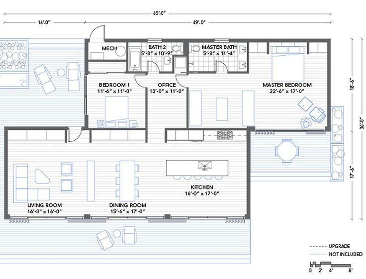 20 best Plans images on Pinterest Small home plans, Home layouts - plan maison 170 m2 plain pied