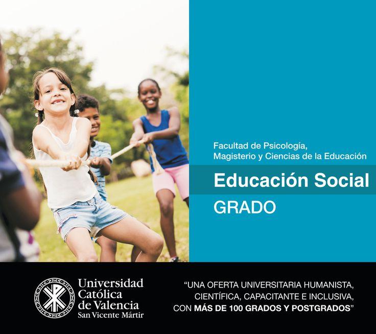 #Grado en #Educación #Social de la #UCV #CompromisoUCV #TuGradoUCV