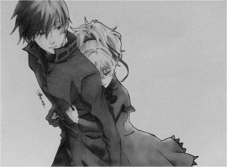 Darker than Black: Hei and Yin by ~irvinesid on deviantART
