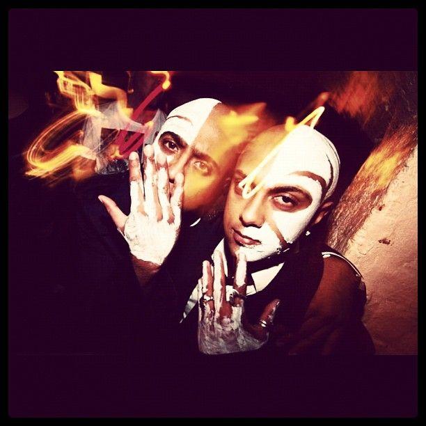 DJing at #Halloween #Rave