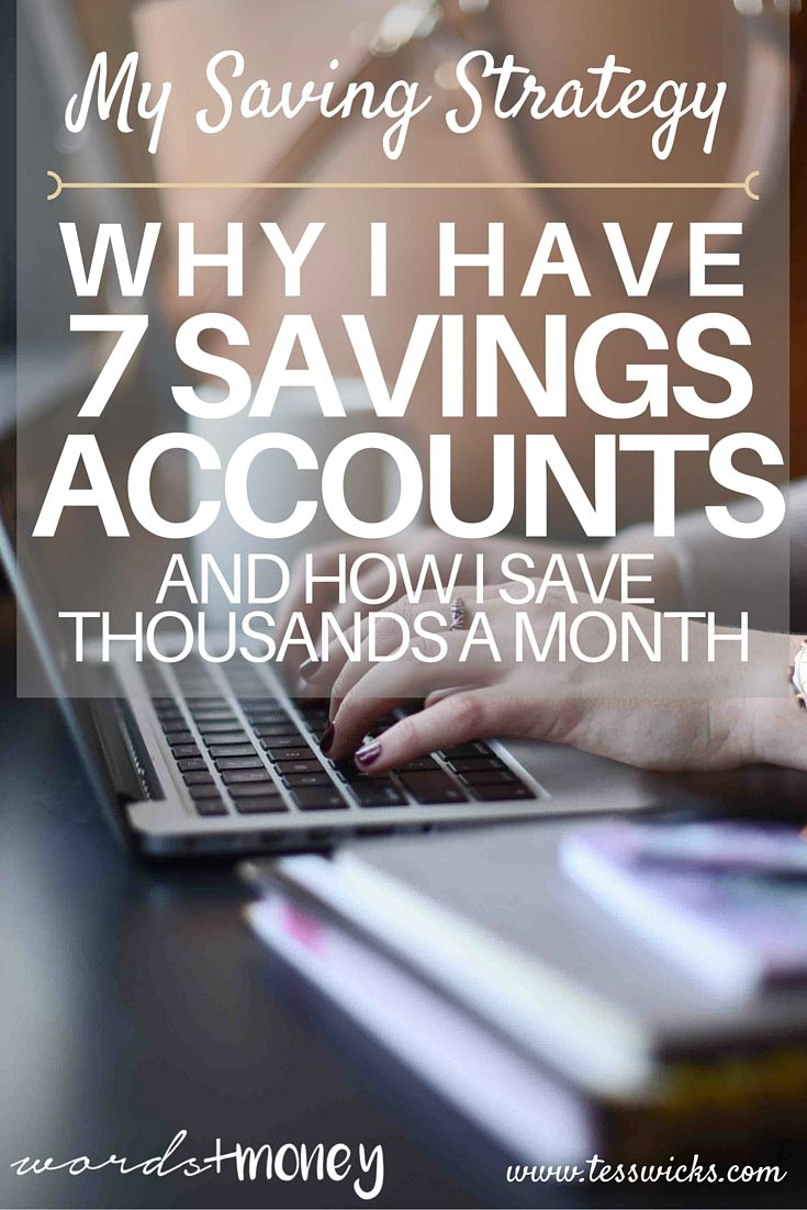How my saving strategy helps me save thousands of dollars a month and stop living paycheck-to-paycheck. Link: http://www.tesswicks.com/blog/mysavingstrategy