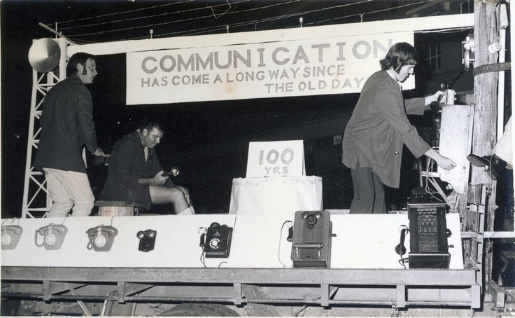 1973 PMG Float in the Innisfail Sugar Festival Procession.